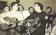 Marty Brennan and Charlie Barton 1957